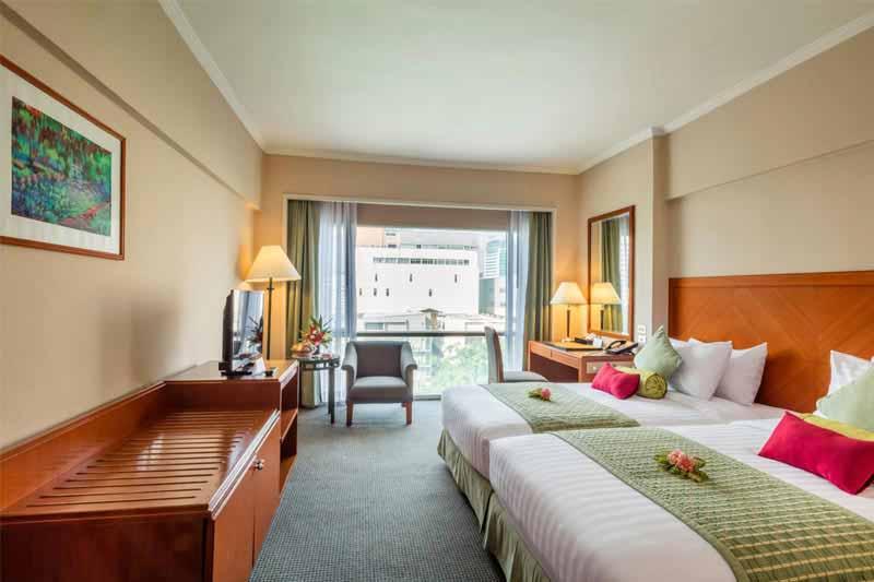 Executive Room Bangkok Palace Hotel Rooms